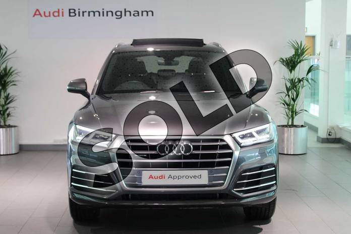 Image seven of this 2019 Audi Q5 Diesel Estate Diesel 40 TDI Quattro S Line 5dr S Tronic in Daytona Grey Pearlescent at Birmingham Audi