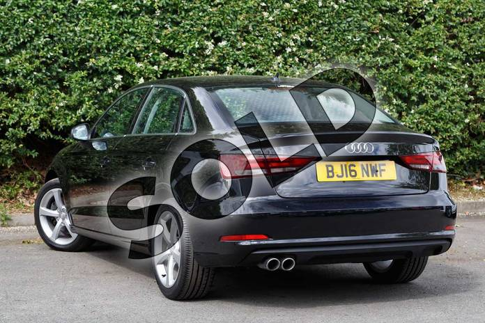 Image three of this 2016 Audi A3 Diesel Saloon Diesel 2.0 TDI 184 Sport 4dr in Mythos Black, metallic at Worcester Audi
