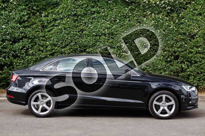 Image four of this 2016 Audi A3 Diesel Saloon Diesel 2.0 TDI 184 Sport 4dr in Mythos Black, metallic at Worcester Audi