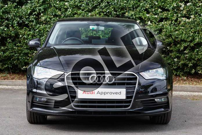 Image seven of this 2016 Audi A3 Diesel Saloon Diesel 2.0 TDI 184 Sport 4dr in Mythos Black, metallic at Worcester Audi