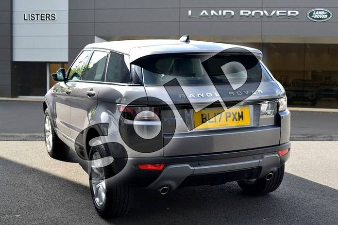 Image two of this 2017 Range Rover Evoque Diesel Hatchback Diesel 2.0 eD4 SE Tech 5dr 2WD in Corris Grey at Listers Land Rover Hereford