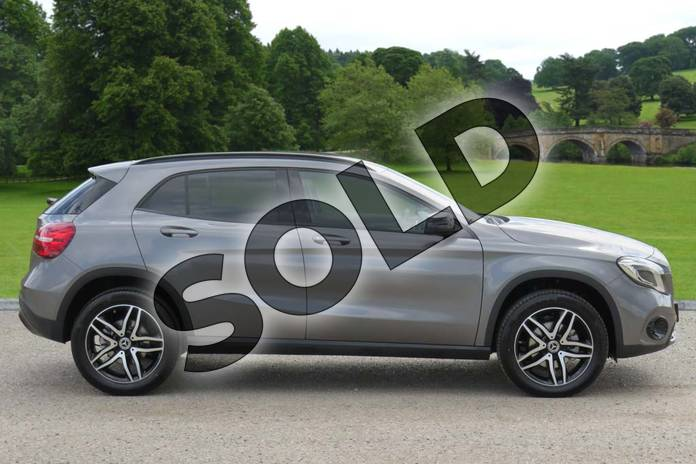 Image four of this 2019 Mercedes-Benz GLA Class Hatchback GLA 180 Urban Edition 5dr Auto in Mountain Grey Metallic at Mercedes-Benz of Boston