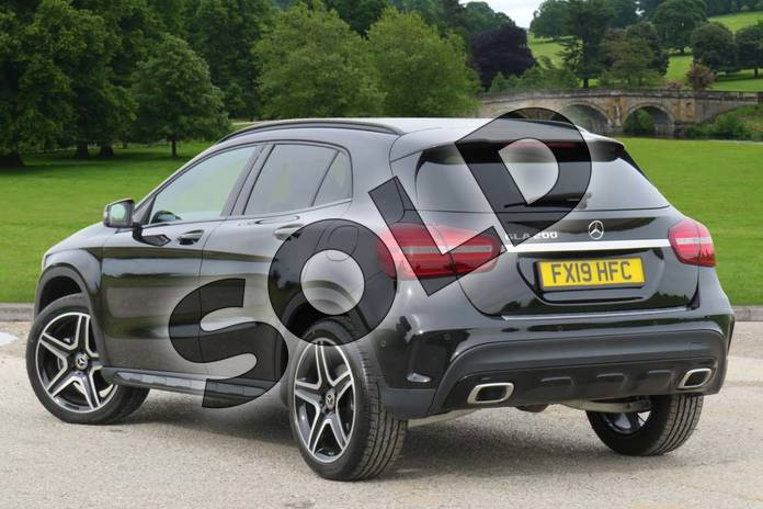 Image two of this 2019 Mercedes-Benz GLA Class Hatchback GLA 200 AMG Line Edition 5dr Auto in Cosmos Black Metallic at Mercedes-Benz of Boston