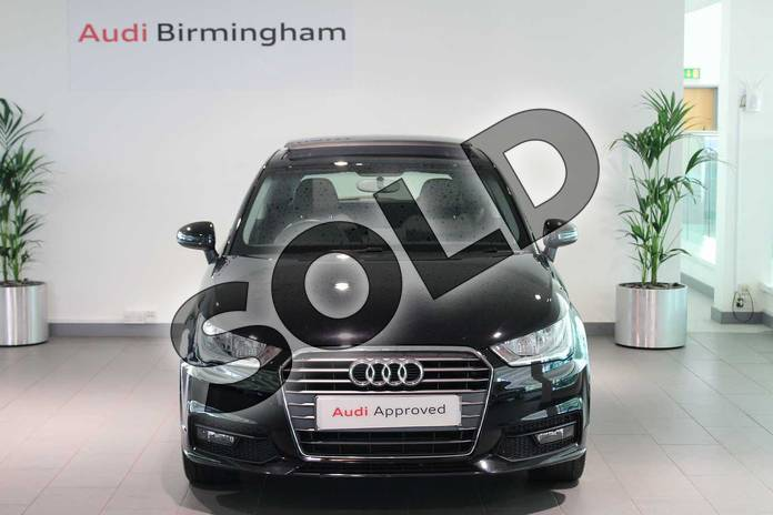 Image seven of this 2015 Audi A1 Hatchback 1.4 TFSI Sport 3dr S Tronic in Brilliant black at Birmingham Audi