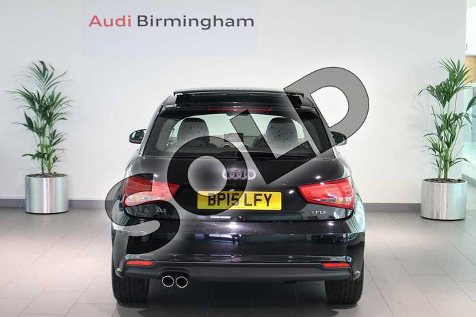 Image fourteen of this 2015 Audi A1 Hatchback 1.4 TFSI Sport 3dr S Tronic in Brilliant black at Birmingham Audi