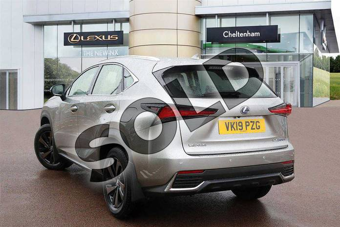 Image three of this 2019 Lexus NX Estate 300h 2.5 5dr CVT (Sport pack) in Sonic Titanium at Lexus Cheltenham