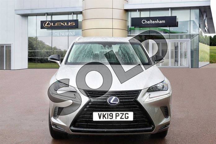 Image seven of this 2019 Lexus NX Estate 300h 2.5 5dr CVT (Sport pack) in Sonic Titanium at Lexus Cheltenham