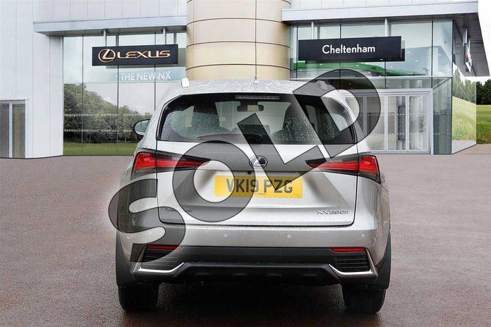 Image nine of this 2019 Lexus NX Estate 300h 2.5 5dr CVT (Sport pack) in Sonic Titanium at Lexus Cheltenham