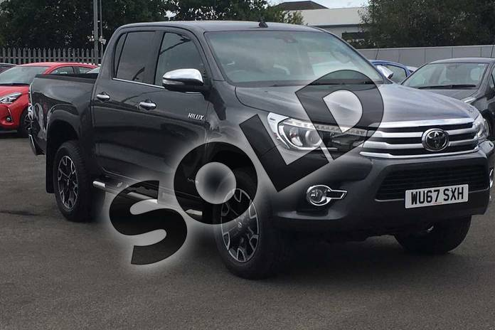 Picture of Toyota Hilux Diesel Invincible X D/Cab Pick Up 2.4 D-4D in Grey