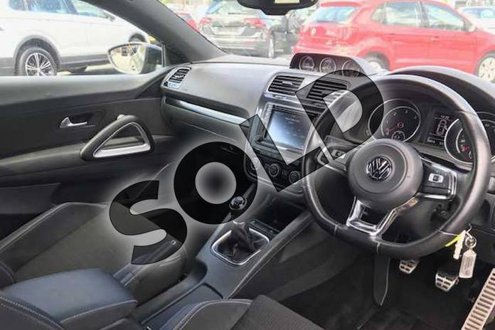 Image six of this 2016 Volkswagen Scirocco Diesel Coupe Diesel 2.0 TDI BlueMotion Tech GT Black Edition 3dr in Indium Grey at Listers Volkswagen Stratford-upon-Avon