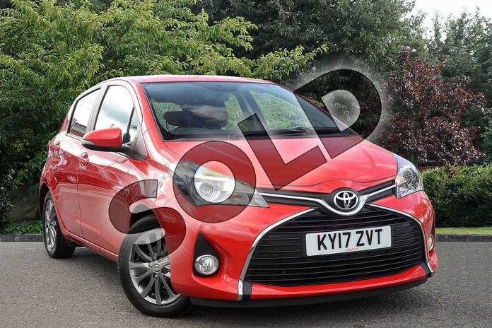 Picture of Toyota Yaris 1.33 VVT-i Icon 5dr in Red