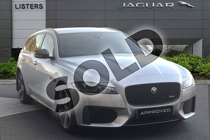 Picture of Jaguar XF 2.0 i4 Petrol (300PS) 300 SPORT AWD in Indus Silver
