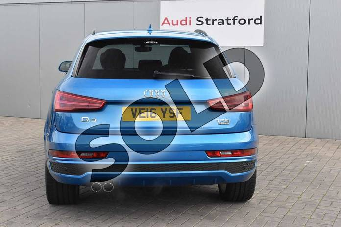 Image nine of this 2016 Audi Q3 Estate Special Editions Special Editions 2.0T FSI Quattro S Line Plus 5dr S Tronic in Hainan blue, metallic at Birmingham Audi