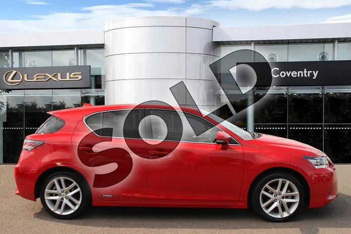 Image four of this 2015 Lexus CT Hatchback 200h 1.8 Advance 5dr CVT Auto in Fuji Red at Lexus Coventry