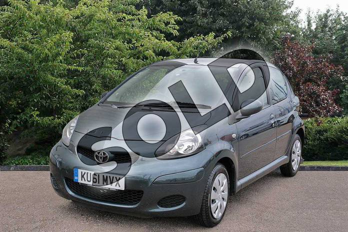 Image three of this 2011 Toyota AYGO Hatchback Special Edition Special Edition 1.0 VVT-i Ice 5dr in Green at Listers Toyota Stratford-upon-Avon