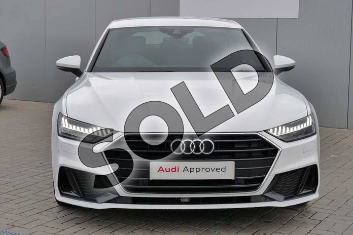 Image seven of this 2018 Audi A7 Diesel Sportback Diesel 40 TDI S Line 5dr S Tronic in Ibis White at Stratford Audi