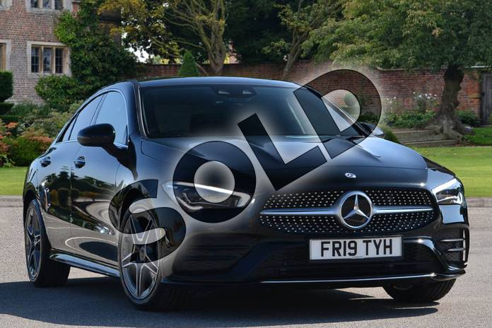 Picture of Mercedes-Benz CLA Class CLA 200 AMG Line Premium Plus 4dr Tip Auto in Cosmos Black Metallic