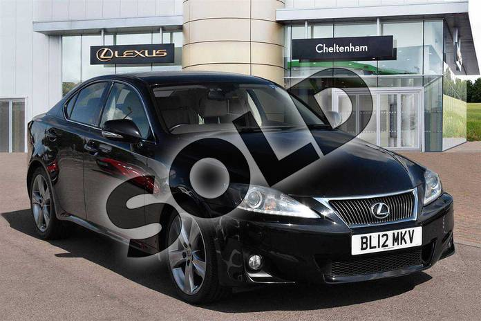 Picture of Lexus IS Special Editions 250 Advance 4dr Auto in Velvet Black