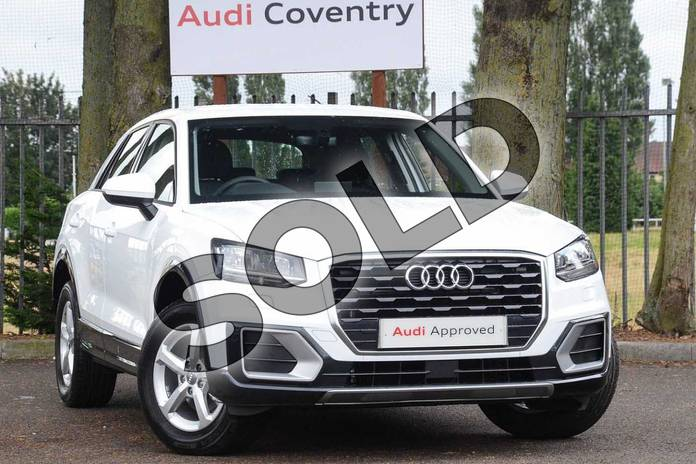 Picture of Audi Q2 35 TFSI SE 5dr in Ibis White