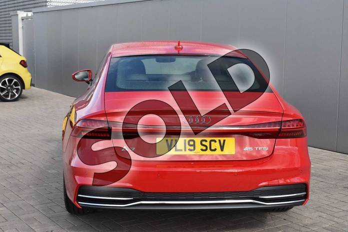 Image twelve of this 2019 Audi A7 Sportback 45 TFSI S Line 5dr S Tronic (Comfort+Sound) in Tango Red Metallic at Stratford Audi