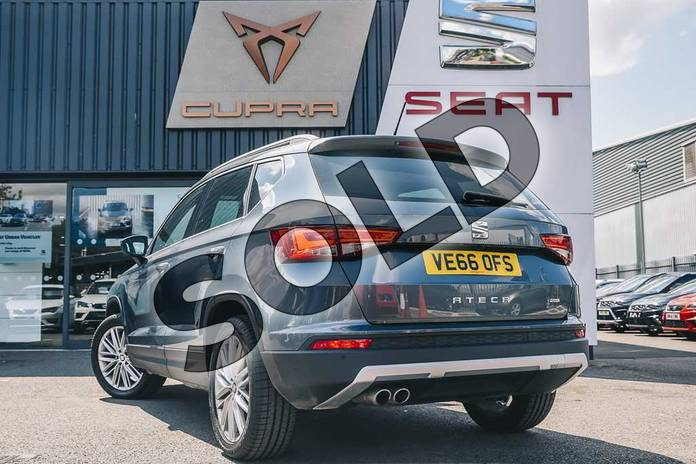 Image six of this 2016 SEAT Ateca Diesel Estate Diesel 2.0 TDI Xcellence 5dr 4Drive in Grey at Listers SEAT Coventry