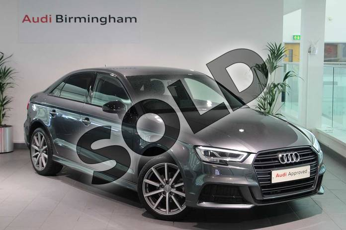 Audi A3 Saloon Special Editions Special Editions 1.6 TDI 116 Black Edition 4dr