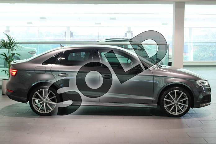 Image four of this 2018 Audi A3 Saloon Special Editions Special Editions 1.6 TDI 116 Black Edition 4dr in Daytona Grey Pearlescent at Birmingham Audi