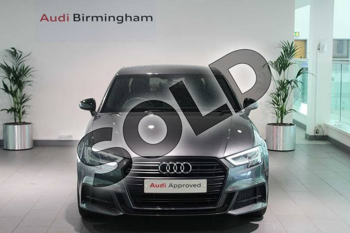 Image seven of this 2018 Audi A3 Saloon Special Editions Special Editions 1.6 TDI 116 Black Edition 4dr in Daytona Grey Pearlescent at Birmingham Audi