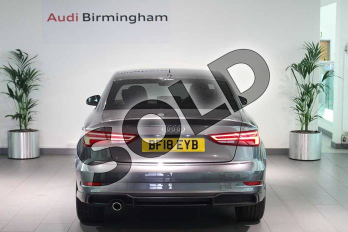Image fourteen of this 2018 Audi A3 Saloon Special Editions Special Editions 1.6 TDI 116 Black Edition 4dr in Daytona Grey Pearlescent at Birmingham Audi