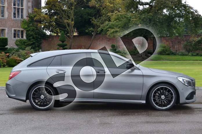 Image four of this 2019 Mercedes-Benz CLA Class Diesel Shooting Brake Diesel Shooting Brake CLA 220d AMG Line Night Ed Pls 4Matic 5dr Tip Auto in mountain grey metallic at Mercedes-Benz of Lincoln