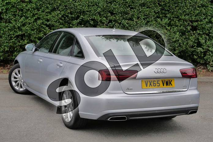 Image three of this 2015 Audi A6 Diesel Saloon Diesel 2.0 TDI Ultra SE 4dr S Tronic in Floret Silver, metallic at Worcester Audi