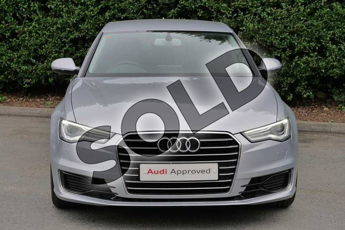 Image seven of this 2015 Audi A6 Diesel Saloon Diesel 2.0 TDI Ultra SE 4dr S Tronic in Floret Silver, metallic at Worcester Audi