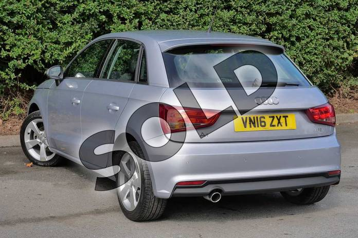 Image three of this 2016 Audi A1 Sportback 1.0 TFSI Sport 5dr in Floret Silver, metallic at Worcester Audi