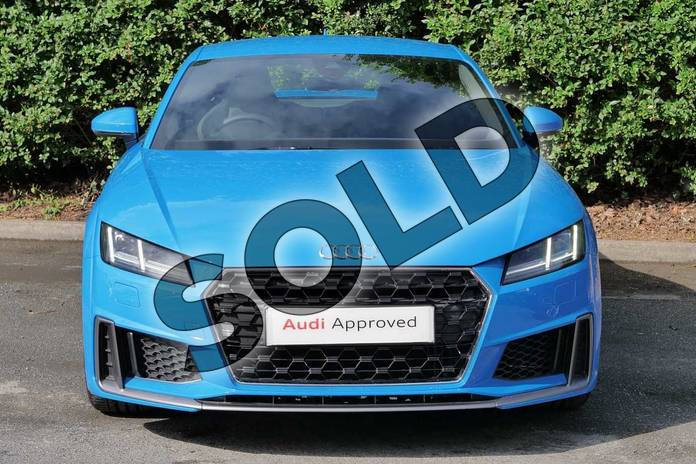 Image seven of this 2019 Audi TT Coupe 45 TFSI S Line 2dr S Tronic in Turbo Blue at Worcester Audi