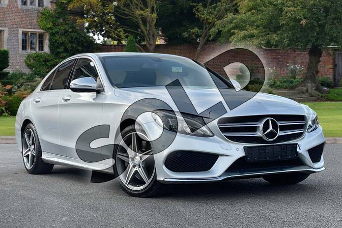 Picture of Mercedes-Benz C Class C250d AMG Line 4dr Auto in Iridium Silver Metallic