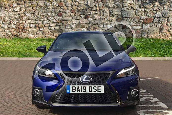 Image four of this 2019 Lexus CT Hatchback 200h 1.8 F-Sport 5dr CVT in Azure Blue at Lexus Coventry