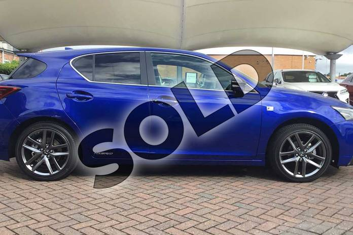 Image sixteen of this 2019 Lexus CT Hatchback 200h 1.8 F-Sport 5dr CVT in Azure Blue at Lexus Coventry