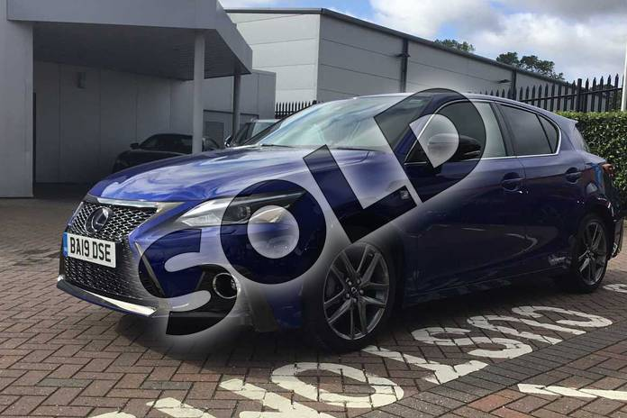 Image seventeen of this 2019 Lexus CT Hatchback 200h 1.8 F-Sport 5dr CVT in Azure Blue at Lexus Coventry