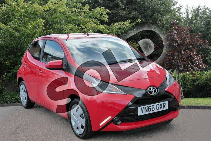 Picture of Toyota AYGO 1.0 VVT-i X-Play 5dr in Red