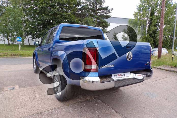 Image three of this 2019 Volkswagen Amarok A33 Diesel D/Cab Pick Up Highline 3.0 V6 TDI 258 BMT 4M Auto in Ravenna Blue Metallic at Listers Volkswagen Van Centre Worcestershire