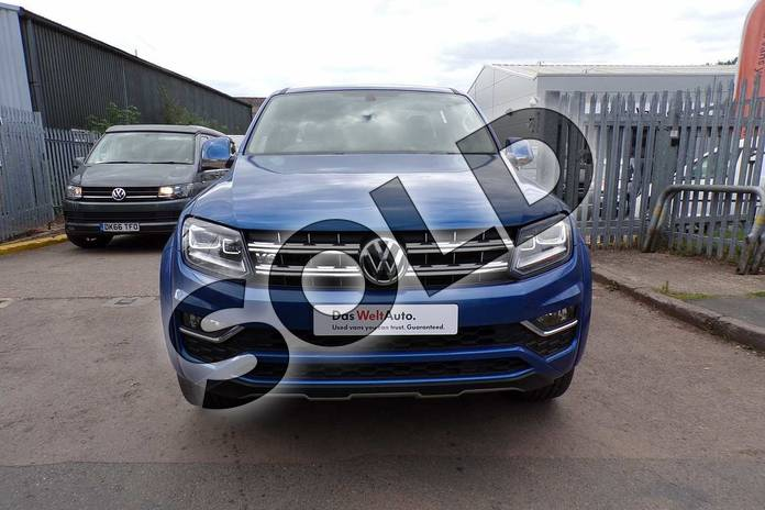 Image five of this 2019 Volkswagen Amarok A33 Diesel D/Cab Pick Up Highline 3.0 V6 TDI 258 BMT 4M Auto in Ravenna Blue Metallic at Listers Volkswagen Van Centre Worcestershire