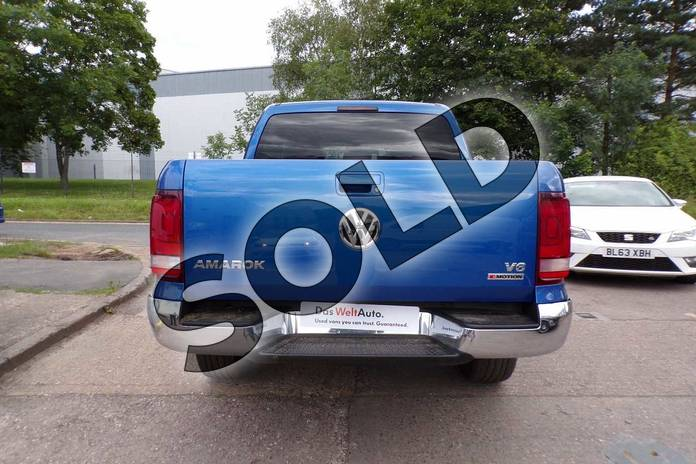 Image seven of this 2019 Volkswagen Amarok A33 Diesel D/Cab Pick Up Highline 3.0 V6 TDI 258 BMT 4M Auto in Ravenna Blue Metallic at Listers Volkswagen Van Centre Worcestershire