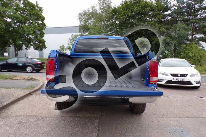Image eight of this 2019 Volkswagen Amarok A33 Diesel D/Cab Pick Up Highline 3.0 V6 TDI 258 BMT 4M Auto in Ravenna Blue Metallic at Listers Volkswagen Van Centre Worcestershire