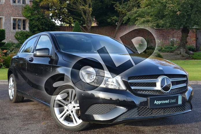 Picture of Mercedes-Benz A Class Special Editions A180 CDI Sport Edition 5dr Auto in Cosmos Black
