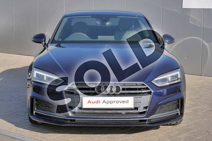 Image seven of this 2019 Audi A5 Coupe 45 TFSI Quattro S Line 2dr S Tronic in Navarra Blue Metallic at Stratford Audi