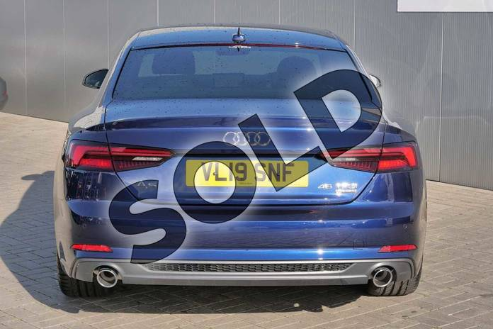 Image nine of this 2019 Audi A5 Coupe 45 TFSI Quattro S Line 2dr S Tronic in Navarra Blue Metallic at Stratford Audi
