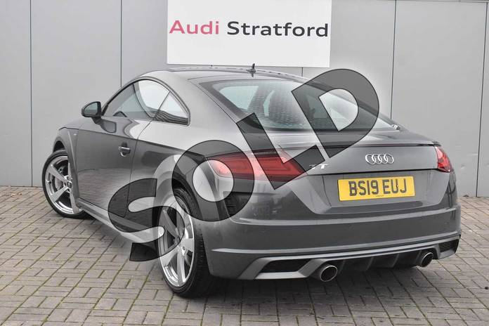 Image three of this 2019 Audi TT Coupe 45 TFSI S Line 2dr S Tronic in Nano Grey Metallic at Birmingham Audi