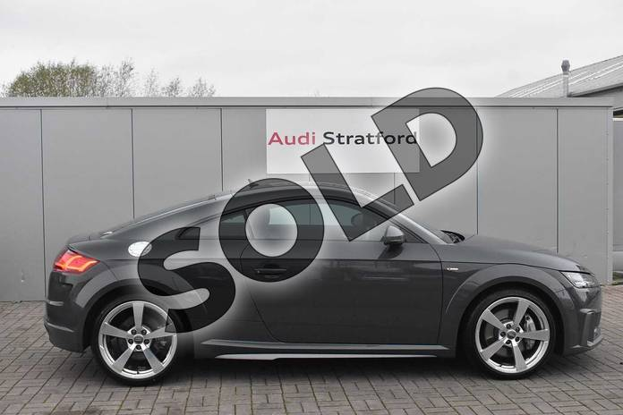 Image four of this 2019 Audi TT Coupe 45 TFSI S Line 2dr S Tronic in Nano Grey Metallic at Birmingham Audi