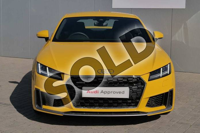 Image seven of this 2019 Audi TT Coupe 45 TFSI Quattro S Line 2dr S Tronic in Vegas Yellow at Stratford Audi