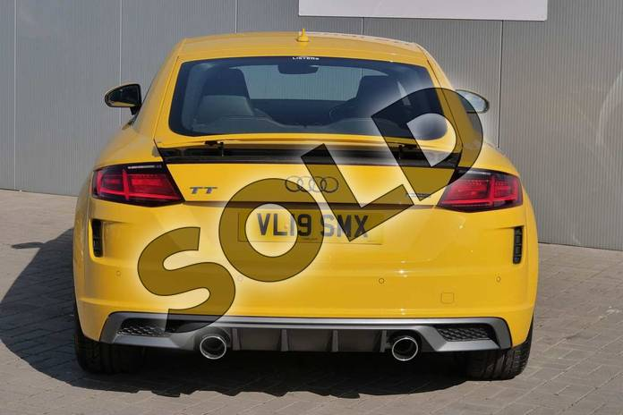 Image nine of this 2019 Audi TT Coupe 45 TFSI Quattro S Line 2dr S Tronic in Vegas Yellow at Stratford Audi